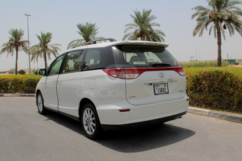 Book Toyota Previa 2015 in Dubai