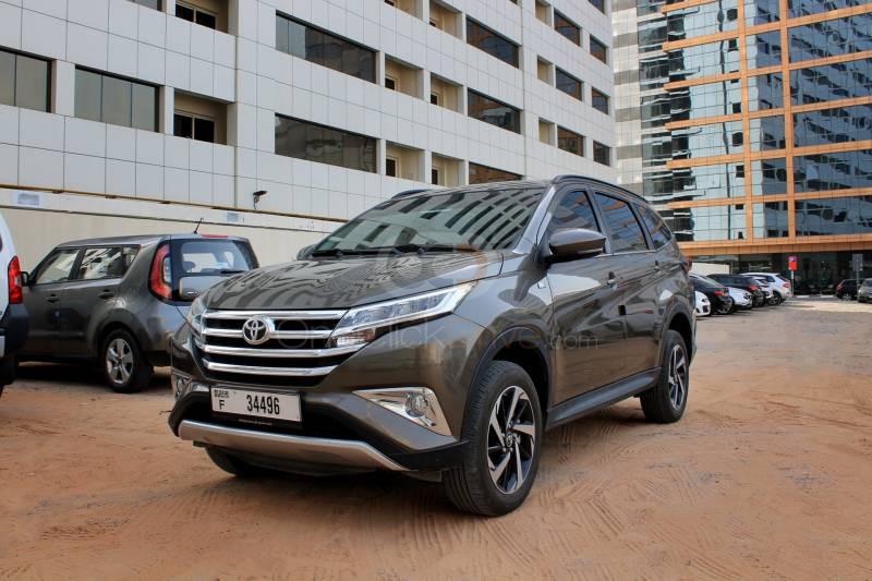 Rent Toyota Rush in Dubai - SUV Car Rental