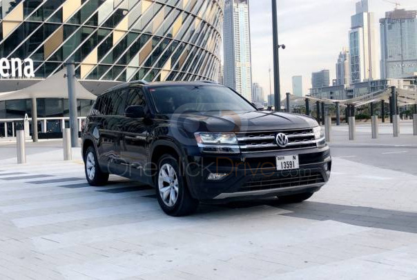 Rent Volkswagen Teramont in Dubai - SUV Car Rental