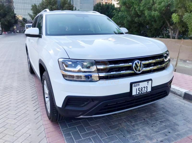 Rent Volkswagen Teramont in Dubai - SUV Car Rental