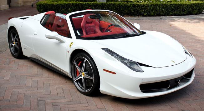 Rent Ferrari 458 Spider: Drive for a day in Dubai / Sharjah