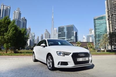 Audi A3 Price in Dubai - Sedan Hire Dubai - Audi Rentals