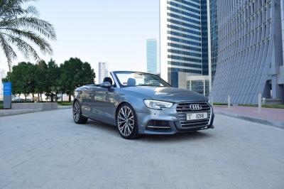 Audi A3 Convertible Price in Dubai - Sedan Hire Dubai - Audi Rentals