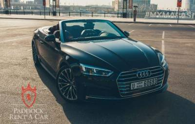 Audi A5 Convertible Price in Dubai - Sports Car Hire Dubai - Audi Rentals