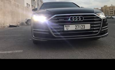 Audi A8 Price in Dubai - Luxury Car Hire Dubai - Audi Rentals