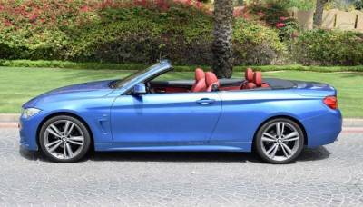 BMW 420i Convertible Price in Abu Dhabi - Sports Car Hire Abu Dhabi - BMW Rentals