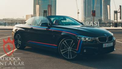 BMW 430i Convertible Price in Dubai - Sports Car Hire Dubai - BMW Rentals