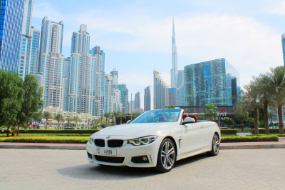 BMW 430i Convertible Price in Dubai - Convertible Hire Dubai - BMW Rentals