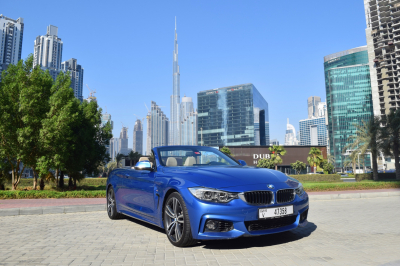 BMW 4 Series Convertible Price in Dubai - Luxury Car Hire Dubai - BMW Rentals
