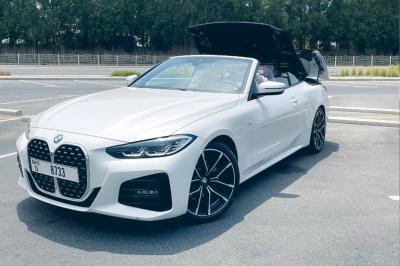 BMW 420i Convertible Price in Dubai - Convertible Hire Dubai - BMW Rentals