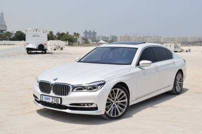 BMW 740Li Price in Abu Dhabi - Sedan Hire Abu Dhabi - BMW Rentals