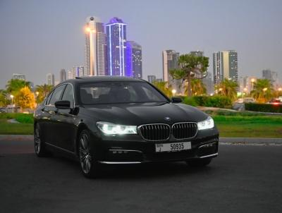 BMW 7 Series Price in Dubai - Sedan Hire Dubai - BMW Rentals