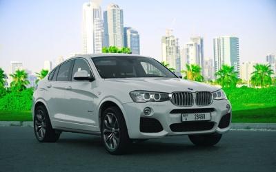 BMW X4 SUV Price in Dubai - SUV Hire Dubai - BMW Rentals