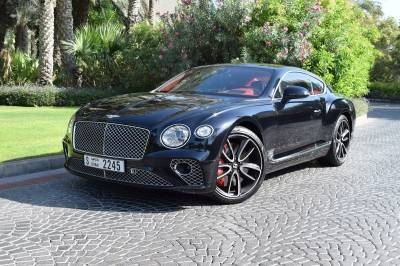 Bentley Continental GT Price in Abu Dhabi - Luxury Car Hire Abu Dhabi - Bentley Rentals