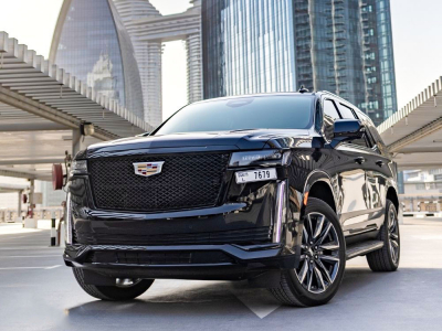 Cadillac Escalade Platinum Sport Price in Dubai - SUV Hire Dubai - Cadillac Rentals