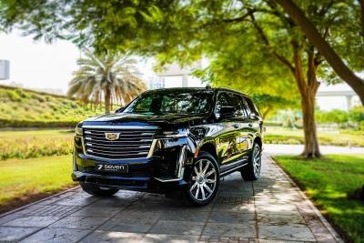 Rent Cadillac Escalade Platinum Sport 2021