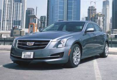 Cadillac ATS  Price in Fujairah - Sedan Hire Fujairah - Cadillac Rentals