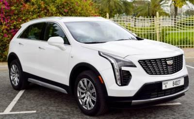 Cadillac XT4 Price in Sharjah - SUV Hire Sharjah - Cadillac Rentals