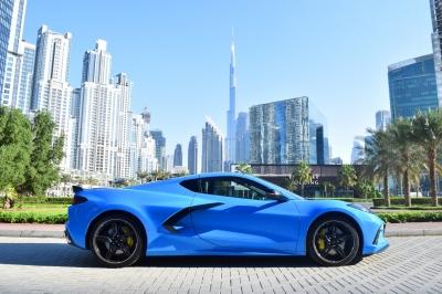 Chevrolet Corvette Price in Dubai - Sports Car Hire Dubai - Chevrolet Rentals