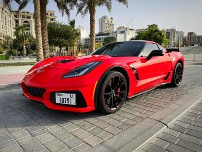 Chevrolet Corvette Grand Sport Price in Dubai - Convertible Hire Dubai - Chevrolet Rentals
