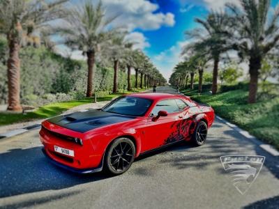 Dodge Challenger Price in Dubai - Muscle Hire Dubai - Dodge Rentals