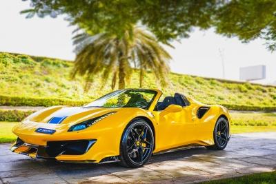Ferrari 488 Pista Spider Price in Dubai - Supercar Hire Dubai - Ferrari Rentals