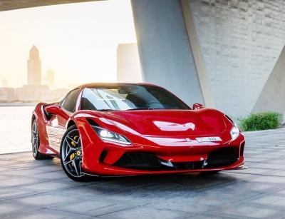 Ferrari F8 Tributo Spider Price in Dubai - Sports Car Hire Dubai - Ferrari Rentals