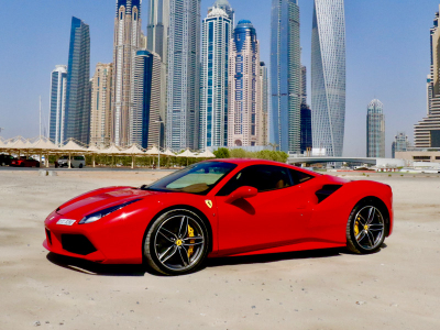 Ferrari 488 GTB Price in Dubai - Sports Car Hire Dubai - Ferrari Rentals