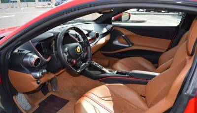 Ferrari 812 Superfast Price in Sharjah - Sports Car Hire Sharjah - Ferrari Rentals