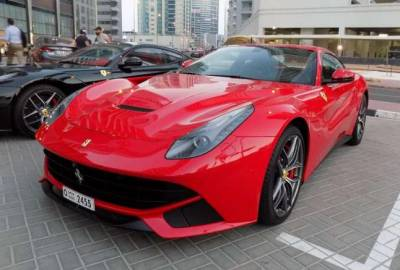 Ferrari F12 Price in Dubai - Sports Car Hire Dubai - Ferrari Rentals