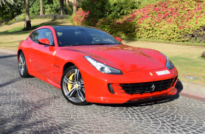 Ferrari GTC4 Lusso V12 Price in Sharjah - Sports Car Hire Sharjah - Ferrari Rentals
