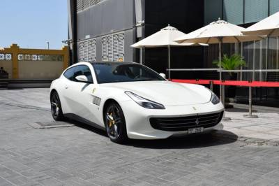 Ferrari GTC4 Lusso V12 Price in Sharjah - Sports Car Hire Sharjah - Ferrari Rentals
