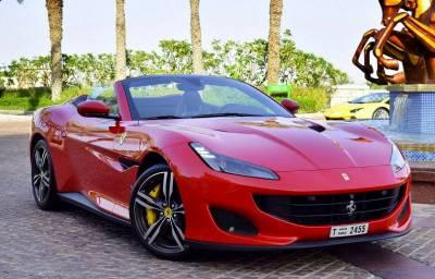 Ferrari Portofino Price in Dubai - Sports Car Hire Dubai - Ferrari Rentals