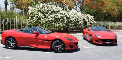Ferrari Portofino Price in Dubai - Sports Car Hire Dubai - Ferrari Rentals