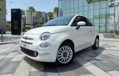 Fiat 500C Price in Dubai - Convertible Hire Dubai - Fiat Rentals