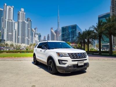 Ford Explorer Price in Dubai - SUV Hire Dubai - Ford Rentals
