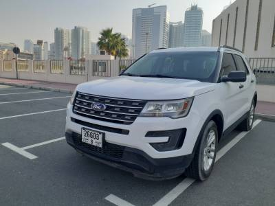 Ford Explorer Price in Abu Dhabi - SUV Hire Abu Dhabi - Ford Rentals