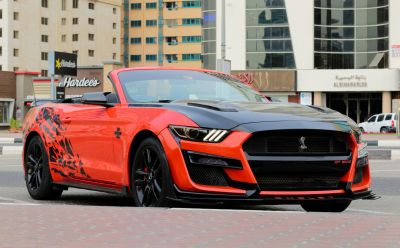 Ford Mustang EcoBoost Convertible Price in Dubai - Sports Car Hire Dubai - Ford Rentals