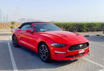 Rent Ford Mustang Convertible EcoBoost 2020
