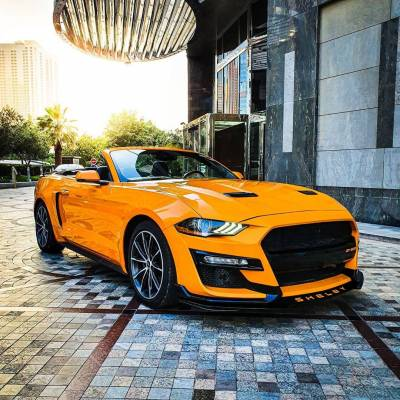 Ford Mustang Convertible EcoBoost Price in Sharjah - Sports Car Hire Sharjah - Ford Rentals