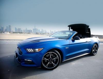 Ford Mustang V6 Convertible Price in Dubai - Sports Car Hire Dubai - Ford Rentals