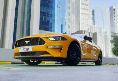 Ford Mustang V8 GT Price in Dubai - Sports Car Hire Dubai - Ford Rentals