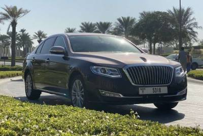 Hongqi H7 Price in Dubai - Sedan Hire Dubai - Hongqi Rentals