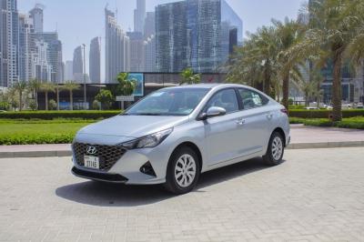 Hyundai Accent Price in Dubai - Sedan Hire Dubai - Hyundai Rentals