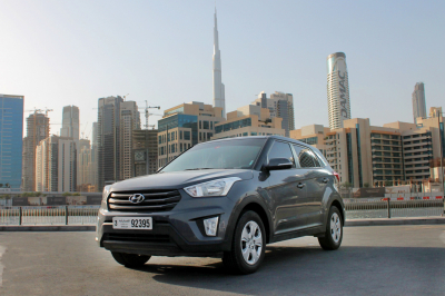 Hyundai Creta Price in Sharjah - SUV Hire Sharjah - Hyundai Rentals