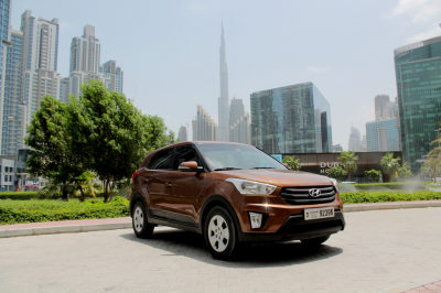 Hyundai Creta Price in Ajman - SUV Hire Ajman - Hyundai Rentals
