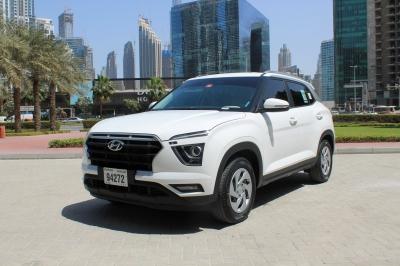 Hyundai Creta Price in Ajman - Crossover Hire Ajman - Hyundai Rentals