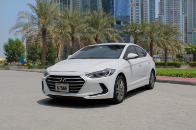 Hyundai Elantra Price in Sharjah - Sedan Hire Sharjah - Hyundai Rentals