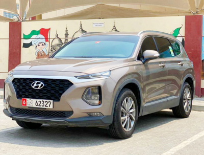 Hyundai Santa Fe Price in Dubai - SUV Hire Dubai - Hyundai Rentals