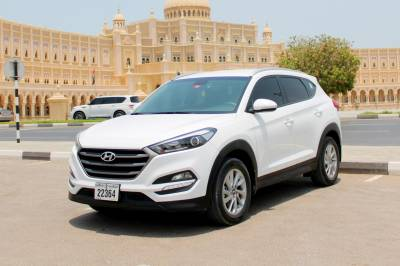 Hyundai Tucson Price in Sharjah - Cross Over Hire Sharjah - Hyundai Rentals